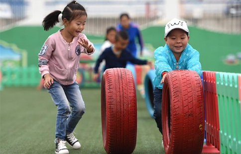Students receive bilingual education in N China's Inner Mongolia