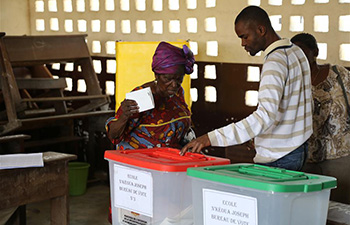 Parliament elections held in Congo