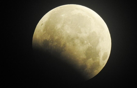 Partial lunar eclipse visible in many parts of China