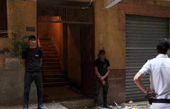 Egypt police kill 10 terrorists during raid in Giza