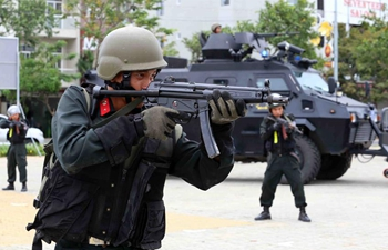 Rehearsal of security protection for upcoming APEC held in Vietnam