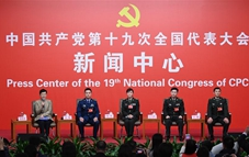 Group interview held on building powerful military with Chinese characteristics