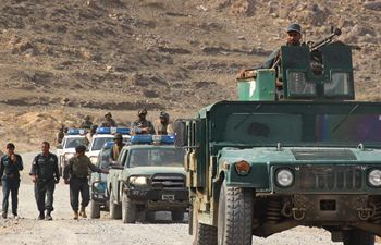 Security forces conduct military operation in Afghanistan