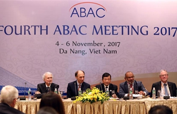 Delegates of ABAC attend press conference in Vietnam