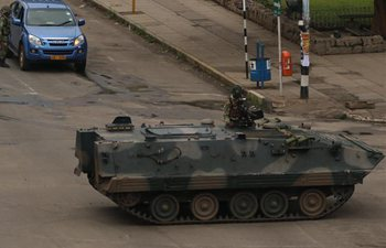 Zimbabwe army cordons off Presidential seat of power