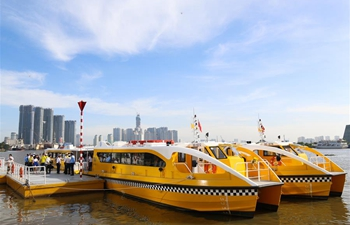 1st water bus route in Vietnam's HCM City officially launched