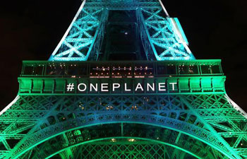 One Planet Summit held in Paris