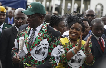 Zimbabwean president pledges to build united, non-racial Zimbabwe