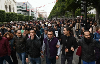 Tunisians protest against raised prices of fuel and other products