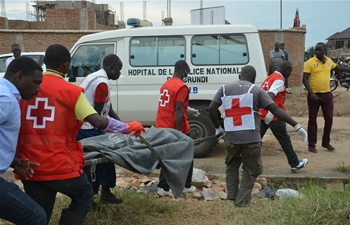 Three die in building collapse in Burundi's capital: police