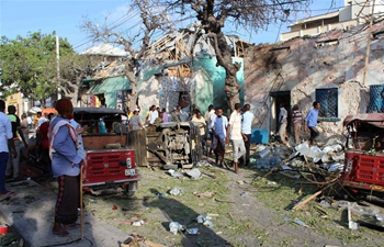 Death toll rises to 14 after heavy blast in Mogadishu