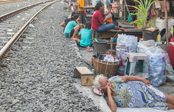 Daily life in south Jakarta city