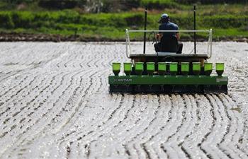 Farmers busy with planting across China around solar term Guyu