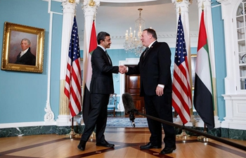 U.S. secretary of state meets with UAE foreign minister in Washington D.C.