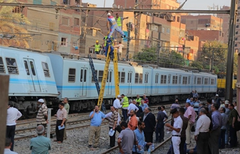 Metro train derailed in Cairo with no injuries