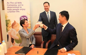 Aussie dairy company renews distribution agreement with CSFA Shanghai