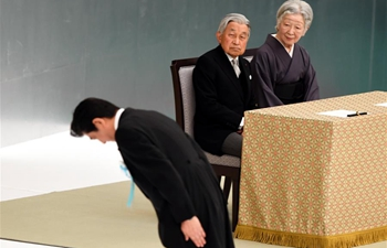 "Japan marks 73rd anniversary of WWII surrender, Emperor Akihito reiterates ""deep remorse"" over country's wartime acts"