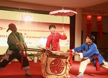 Wuhan cultural delegation staged in Abuja, Nigeria