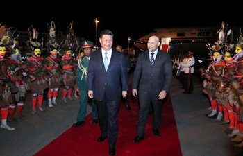 Xi arrives in PNG for state visit, APEC meeting
