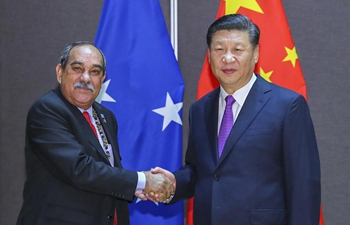 Xi meets leaders of Pacific island nations to further BRI cooperation