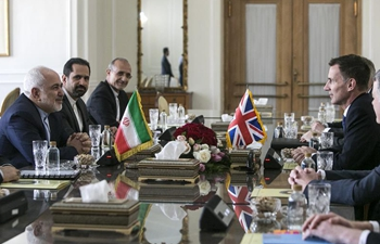 Iranian FM meets with visiting British Secretary of State in Tehran