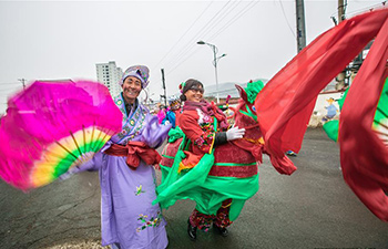 Variety of folk activities staged in China to mark lunar new year