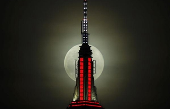 In pics: full moon in New York
