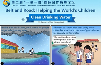 Comics: Belt and Road Initiative helping world's children clean drinking water