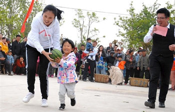 4th watermelon festival celebrated in Duanbolan Town, China's Shandong