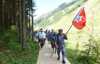 """Historical scenarios of Long March reproduced on """"Red Army path"""" in Ningxia"""
