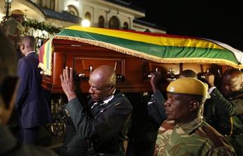 Mugabe's body arrives in Zimbabwe ahead of burial Sunday