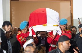 Former Indonesian President Habibie dies at age 83