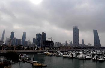 In pics: buildings shrouded in fog in Kuwait City