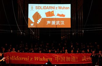 Charity concert held in Warsaw to show solidarity with China