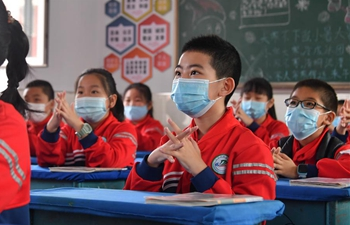 Part of primary school students in Hohhot resume class
