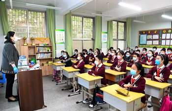 Zhengzhou resumes class at primary schools
