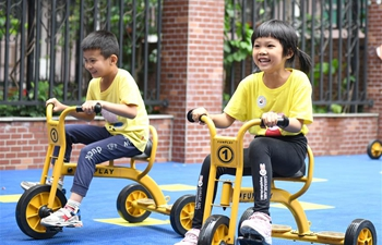 Kindergartens across China gradually reopen