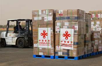 China provides new medical supplies to Sudan to bolster anti-coronavirus fight