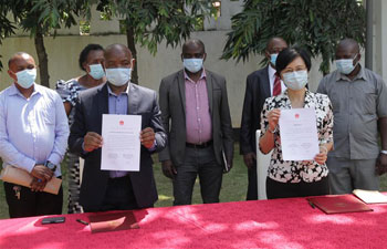 China donates COVID-19 protective facilities to Tanzanian schools