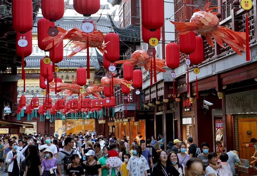 """上海:豫园进入""""暑期档"""""""