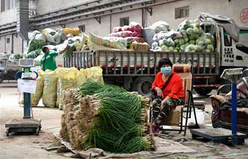 Urumqi reopens farmers' markets with strict COVID-19 prevention measures