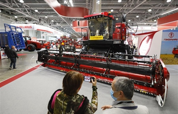 Agrosalon int'l agricultural exhibition held in Moscow