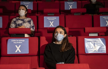 Feature: Istanbul Film Festival smooth but different amid pandemic gloom