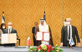 Bahrain, Israel ink key deals formalizing ties