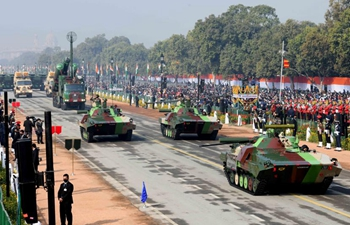 72nd Republic Day parade held in New Delhi, India
