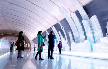 Shanghai Subway Line 15 starts trial operation