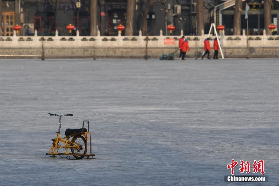 北京什刹海冰场关停