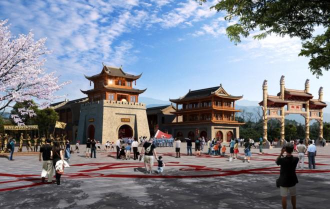 延安新添红色旅游名片 延安红街将于6月12日开街