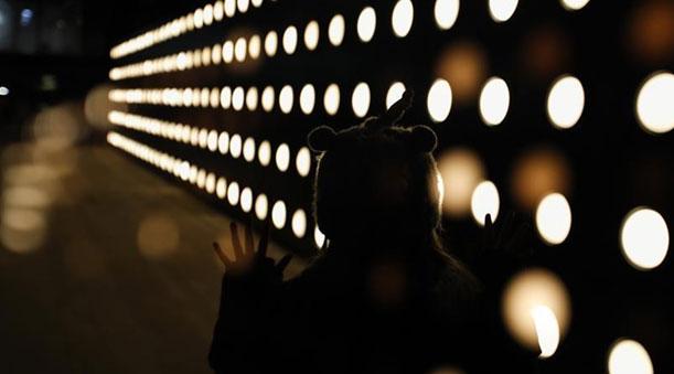 燈光藝術扮靚倫敦街頭
