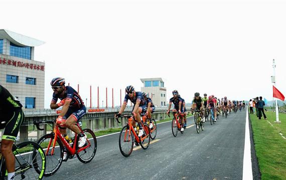 環中國自行車賽9月首次騎進湖北潛江
